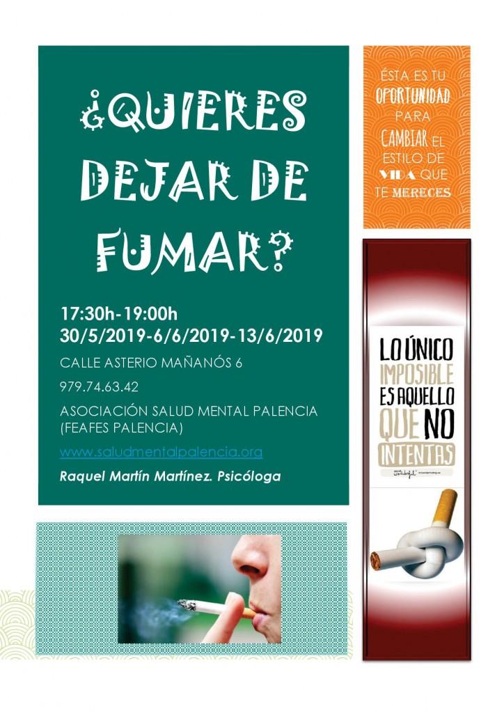 QUIERES DEJAR DE FUMAR