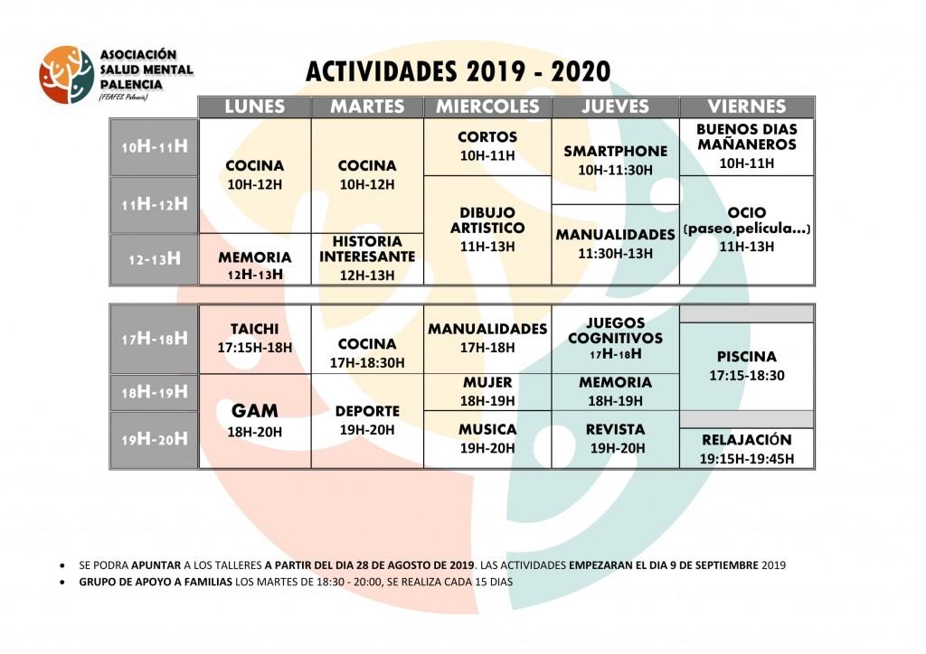 horario 2019-2020-1